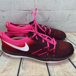 Nike Shoes - Nike Free TR Focus Flyknit Running Shoe Sz 10